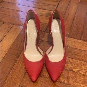 Jessica Simpson red pumps!